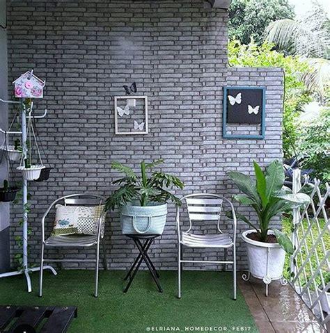unik membuat dekorasi teras rumah minimalis menjadi