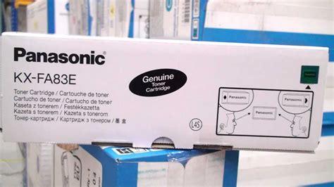 Toner Kx Fa83e panasonic toner cartridge kx fa83x kx fa83e black