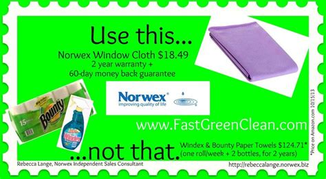 norwex window cloth ideas  pinterest
