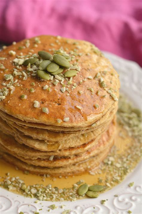 Pumpkin Cottage Cheese by Pumpkin Protein Pancakes Gf Low Cal Fitalicious