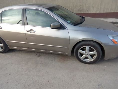 honda accord leather seats for sale one year used 2005 honda accord ex l leather interior for