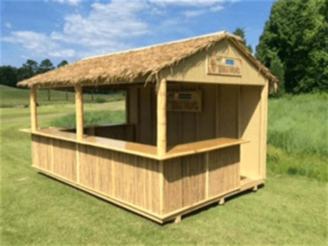 Shed Tiki Bar by Ideas To Turn Your Shed Into An Entertainment Destination