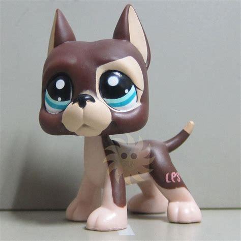 ebay lps dogs littlest pet shop collection lps figure brown great dane on sale ebay