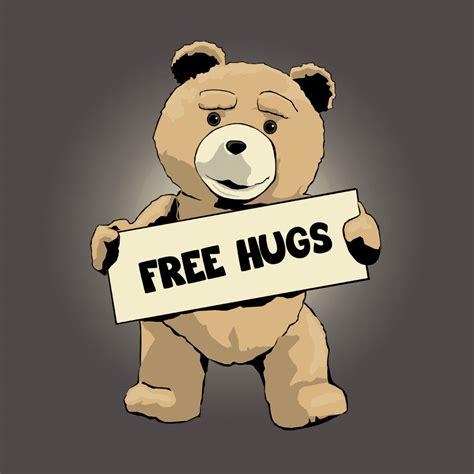 Free Hugs ted free hugs www teetee eu