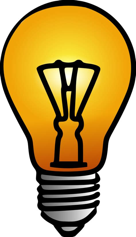 free image clipart best lightbulb clipart 10790 clipartion