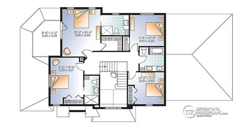 4 Bedroom Traditional House Plan With Rustic Touches Two 4 Bedroom House Plans Rustic