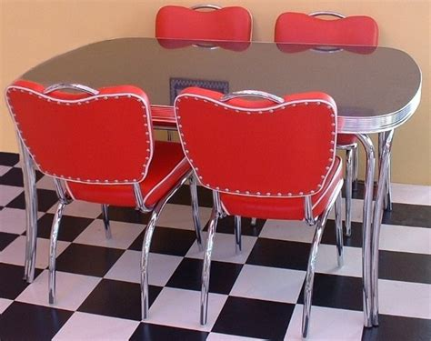 American Diner Table And Chairs by 50s Diner Sets Wotever Co Uk Retro Kitchen