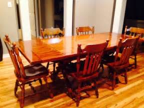 Early American Dining Room Furniture Dining Room Table 6 Chairs Hutch Usa Conway Home And Furnitures Items For Sale Deal