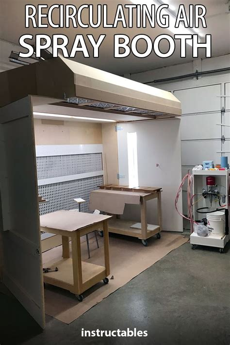 recirculating air spray booth spray booth spray booth
