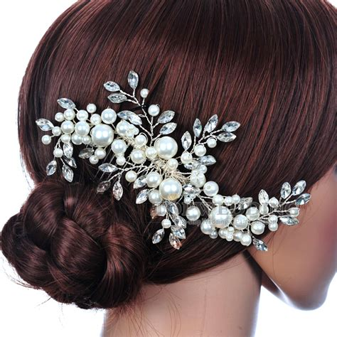 Wedding Hair Accessories Aliexpress by Aliexpress Buy Grace Jewelry Bridal Hair Comb Tuck