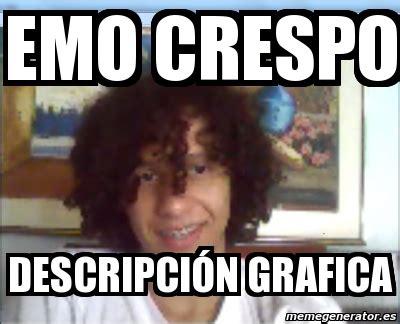 Emo Meme Generator - meme personalizado emo crespo descripci 211 n grafica 1625545