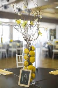 yellow and gray centerpieces a fresh gray and yellow wedding a affair event