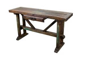 recycled pine sofa table rustic mexican furniture