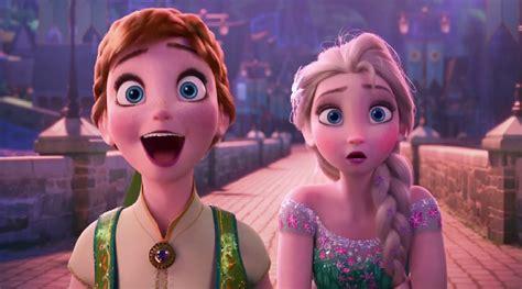 film frozen nikah elsa olaf dkk siapkan pesta ultah anna di trailer frozen
