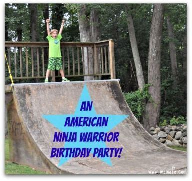 american ninja warrior backyard american ninja warrior birthday party kid home and we