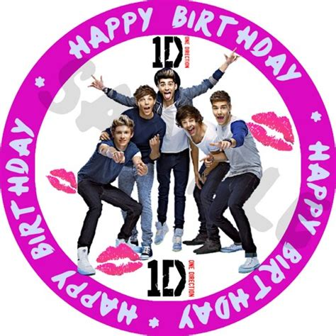 Printable Birthday Cards One Direction | 5 best images of one direction printable birthday cards