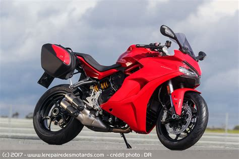 Motorrad Test Ducati Supersport by Essai Ducati Supersport Supersport S