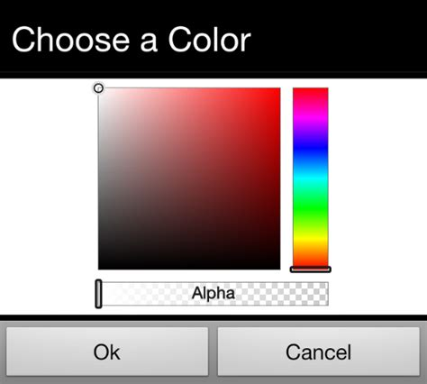 android color picker java android color picker to be included in the activity stack overflow