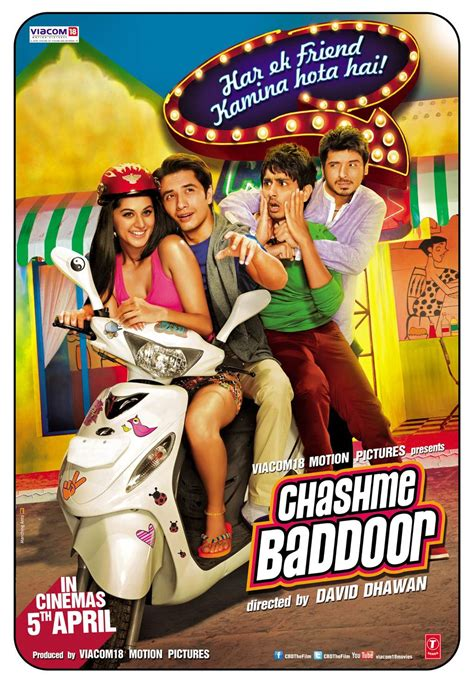 film comedy english 2013 chashme buddoor movie poster and trailer xcitefun net