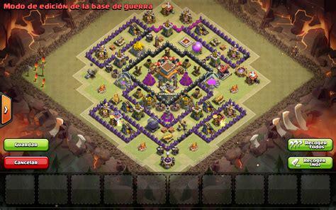 clash of clans ayuntamiento de aldea 8 espa 241 awar aldea de guerra ayuntamiento 8