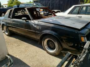 1987 Buick Grand National Parts For Sale 1987 Buick Grand National Burnt Insurance Salvage Vehicle