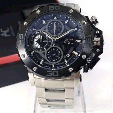 jual jam tangan pria alexandre christie collection ac