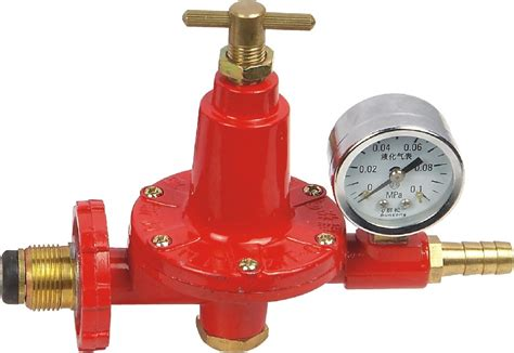 Regulator Gas High Pressure Nis0909 big flow rate gas regulator with meter view gas regulator with meter qunsong oem product