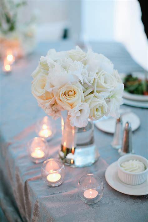 white rose wedding centerpiece elizabeth anne designs