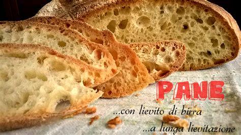 pane fatto in casa con pasta madre pane fatto in casa a lunga lievitazione con lievito di birra