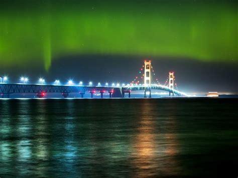 Northern Lights In Michigan by Northern Lights Northern Michigan