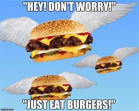 Burger Memes - flying burger imgflip