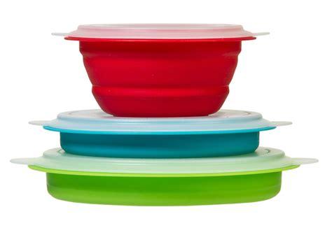 Tupperware Silicon Cup progressive cb 20 prepworks 3 pc collapsible storage bowl set ebay