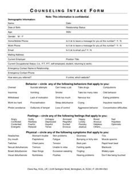 8 Best Client Counselling Intake Form Images On Pinterest Counselling Coaching And Fill Coaching Intake Form Template