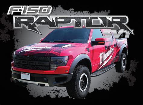 Warning Curves Ahead Wisconsin Screen Process Ford Raptor Template