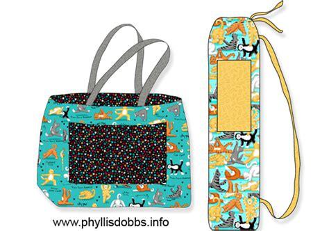 Yoga Duffle Bag Pattern | free sewing pattern phyllis dobbs blog