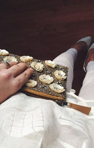 Clutch Kanzashi White 17 best images about handmade flowers on