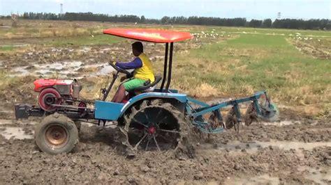 traktor modifikasi baru mesin bajak modern