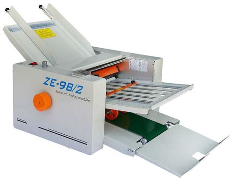 Manual Paper Folding Machine - sales ze 9b 2 small manual paper folding machine