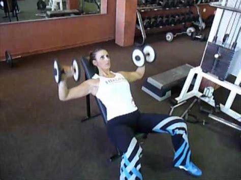 Developpe Incline Avec Haltere by Exercice De Musculation Pectoraux D 233 Velopp 233 Inclin 233 Avec
