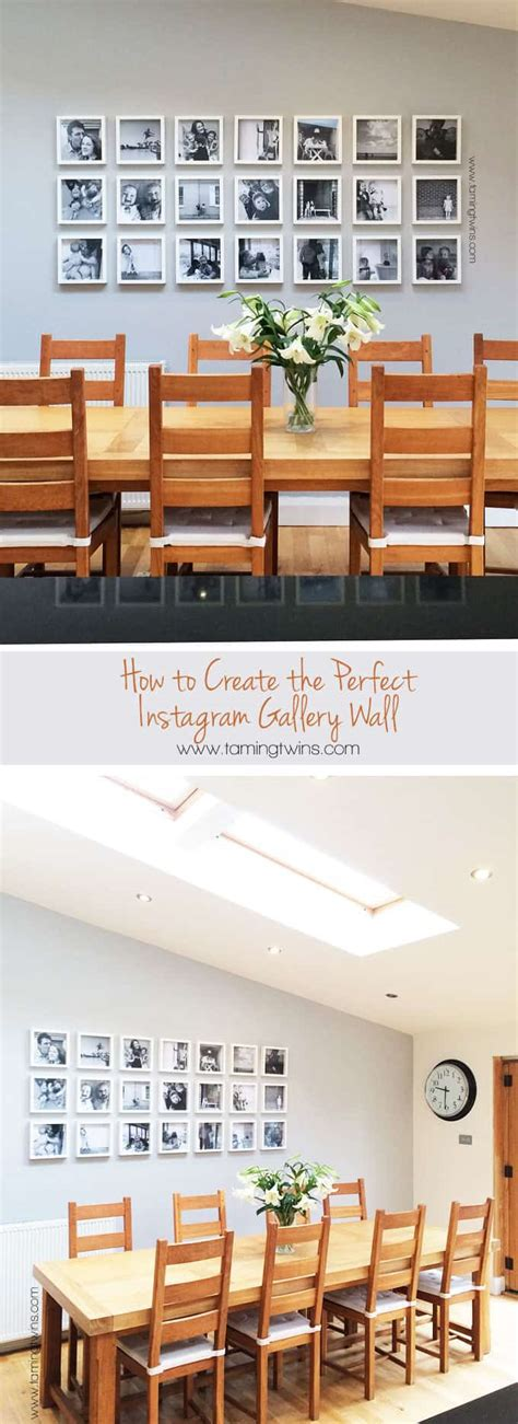 instagram gallery tutorial instagram gallery wall tutorial taming twins