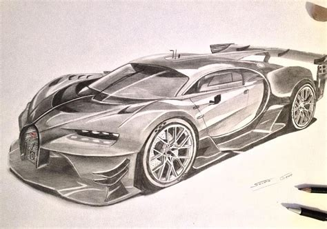 bugatti drawing bugatt chiron bugatti chiron bugattichiron veyron car
