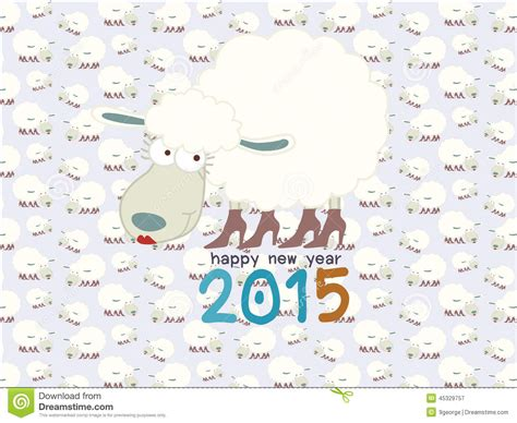 new year sheep pattern sheep on seamless sheep pattern happy new year 2015