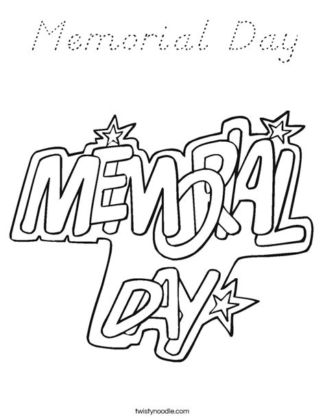 memorial day coloring page d nealian twisty noodle