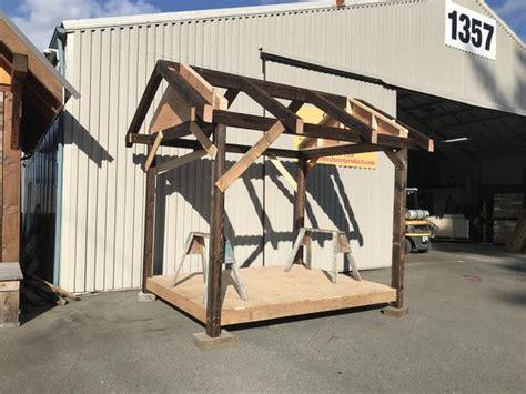 peerless post  beam shed frame kit  victoria