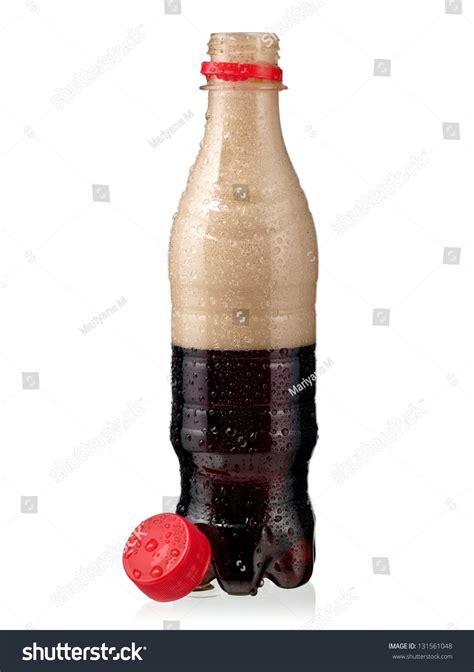 soda photography opened brown soda water bottle stock photo 131561048