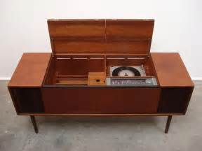 Turntable Cabinet by Vintage And Olufsen Sideboard With A Record Player