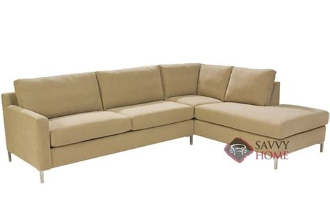 queen sleeper chaise sofa soho fabric chaise sectional by lazar industries is fully