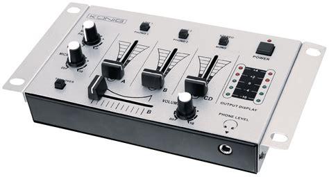 kn djmixer10 dj mixer basic at reichelt elektronik