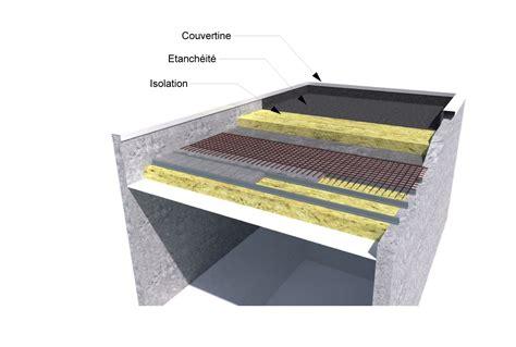 Construire Un Toit Plat 2135 by Schema Construction Toit Plat