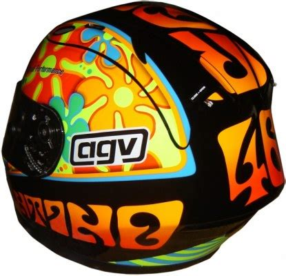 Helm Agv Motif this is of course official valentino merchandise